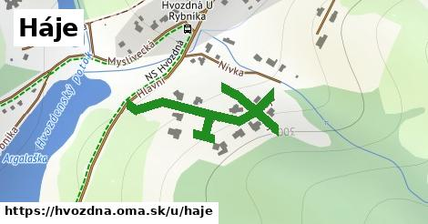 ilustrácia k Háje, Hvozdná - 476m