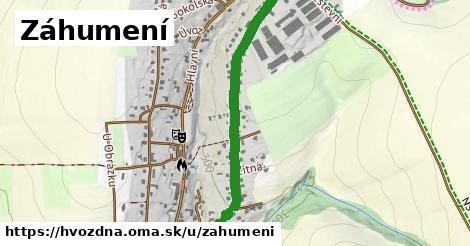 ilustrácia k Záhumení, Hvozdná - 1,11km
