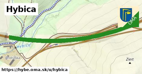 ilustrácia k Hybica, Hybe - 2,6km