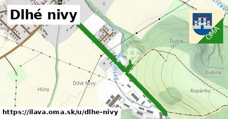 ilustrácia k Dlhé Nivy, Ilava - 1,07km