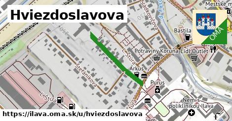 ilustrácia k Hviezdoslavova, Ilava - 229m