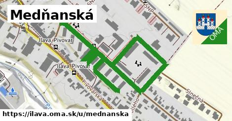 ilustrácia k Medňanská, Ilava - 0,96km