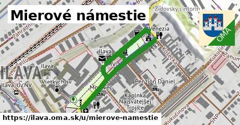 ilustrácia k Mierové námestie, Ilava - 585m