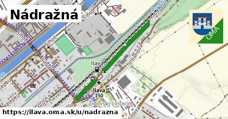ilustrácia k Nádražná, Ilava - 473m