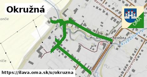 ilustrácia k Okružná, Ilava - 0,70km