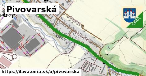 ilustračný obrázok k Pivovarská, Ilava