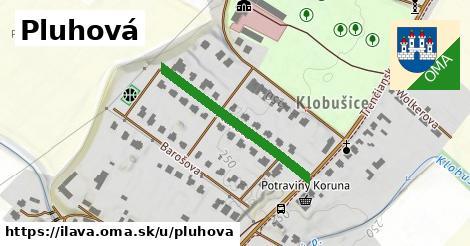 ilustrácia k Pluhová, Ilava - 290m