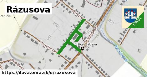 ilustrácia k Rázusova, Ilava - 302m
