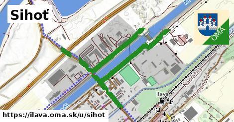 ilustrácia k Sihoť, Ilava - 1,38km