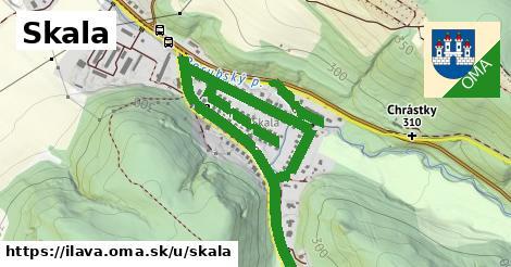 ilustrácia k Skala, Ilava - 1,87km