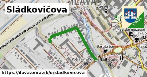 ilustrácia k Sládkovičova, Ilava - 358m