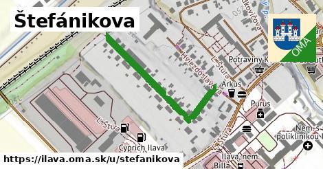 ilustrácia k Štefánikova, Ilava - 376m