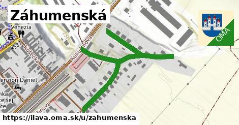 ilustrácia k Záhumenská, Ilava - 488m