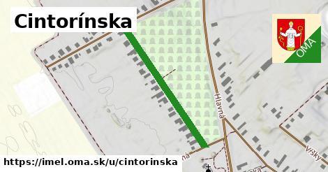 ilustrácia k Cintorínska, Imeľ - 337m