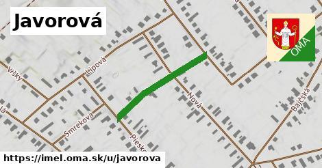 ilustrácia k Javorová, Imeľ - 257m