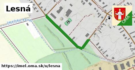 ilustrácia k Lesná, Imeľ - 348m