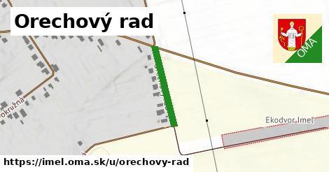 ilustrácia k Orechový rad, Imeľ - 181m