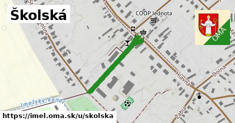 ilustrácia k Školská, Imeľ - 254m