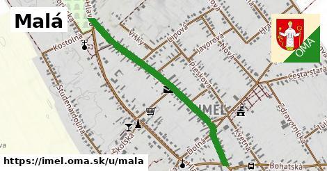 ilustrácia k Malá, Imeľ - 0,95km