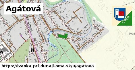 ilustrácia k Agátová, Ivanka pri Dunaji - 169m