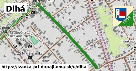 ilustrácia k Dlhá, Ivanka pri Dunaji - 477m