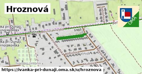 ilustračný obrázok k Hroznová, Ivanka pri Dunaji