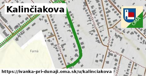 ilustrácia k Kalinčiakova, Ivanka pri Dunaji - 395m