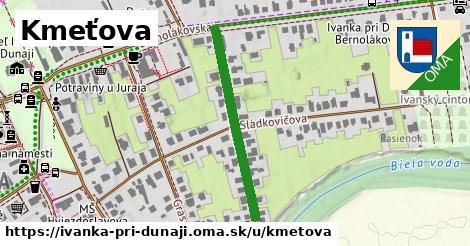 ilustrácia k Kmeťova, Ivanka pri Dunaji - 316m