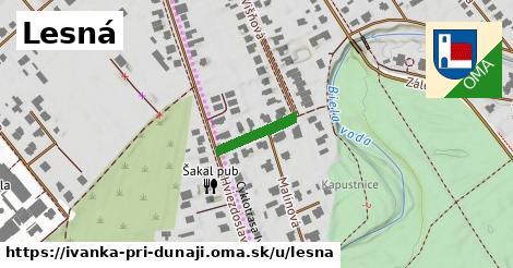 ilustrácia k Lesná, Ivanka pri Dunaji - 127m
