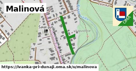 ilustrácia k Malinová, Ivanka pri Dunaji - 251m