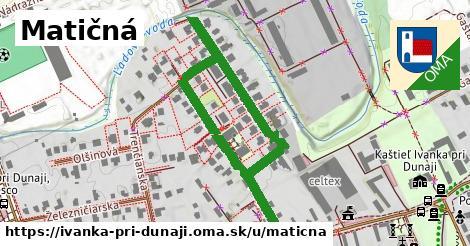 ilustrácia k Matičná, Ivanka pri Dunaji - 0,71km