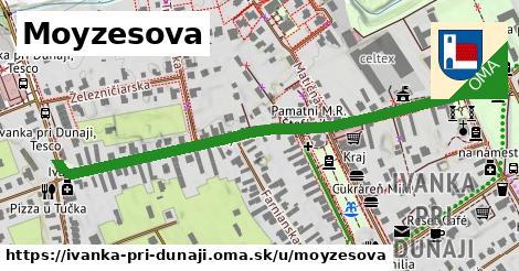 ilustrácia k Moyzesova, Ivanka pri Dunaji - 605m