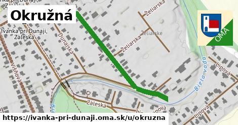 ilustrácia k Okružná, Ivanka pri Dunaji - 404m