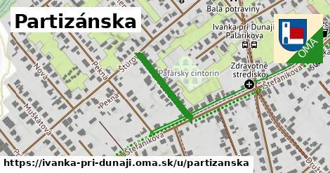ilustrácia k Partizánska, Ivanka pri Dunaji - 195m