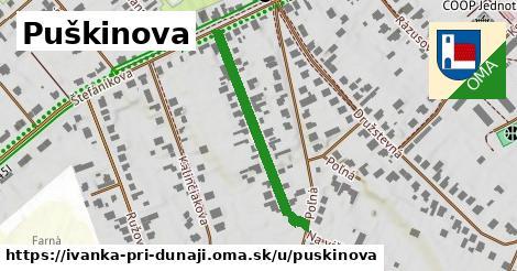 ilustrácia k Puškinova, Ivanka pri Dunaji - 319m