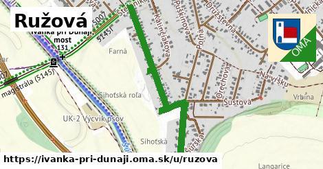 ilustrácia k Ružová, Ivanka pri Dunaji - 0,93km