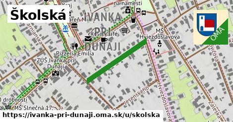ilustračný obrázok k Školská, Ivanka pri Dunaji