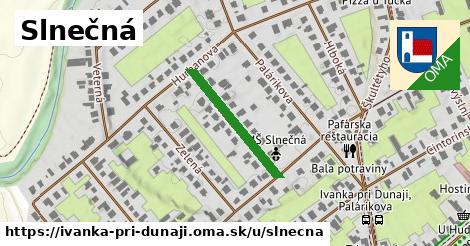 ilustrácia k Slnečná, Ivanka pri Dunaji - 221m