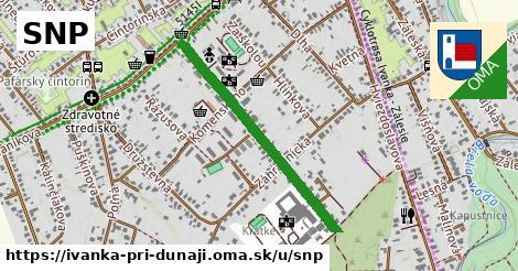 ilustrácia k SNP, Ivanka pri Dunaji - 0,71km