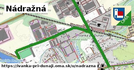 ilustrácia k Nádražná, Ivanka pri Dunaji - 1,36km