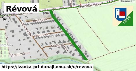 ilustrácia k Révová, Ivanka pri Dunaji - 344m