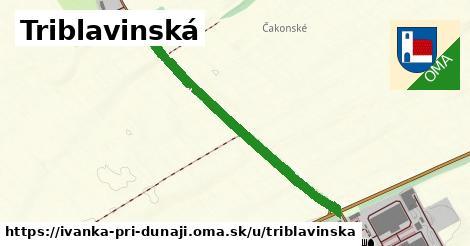 ilustrácia k Triblavinská, Ivanka pri Dunaji - 0,89km
