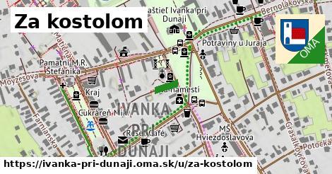 ilustrácia k Za kostolom, Ivanka pri Dunaji - 53m