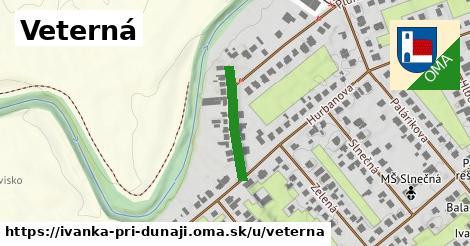 ilustrácia k Veterná, Ivanka pri Dunaji - 183m