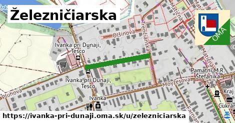 ilustrácia k Železničiarska, Ivanka pri Dunaji - 208m