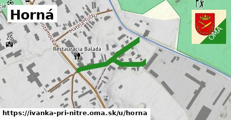 ilustrácia k Horná, Ivanka pri Nitre - 344m