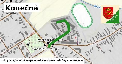 ilustrácia k Konečná, Ivanka pri Nitre - 291m