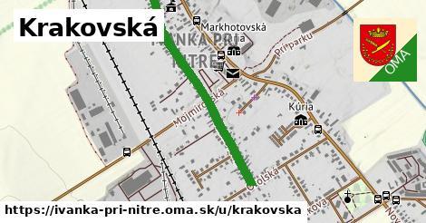 ilustrácia k Krakovská, Ivanka pri Nitre - 1,09km