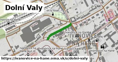 ilustrácia k Dolní Valy, Ivanovice na Hané - 181m