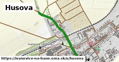 ilustrácia k Husova, Ivanovice na Hané - 0,76km